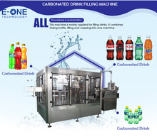 Shanghai Hot Sale!Beverage With Gas Filling Machine/Carbonated Drinks Production Lines