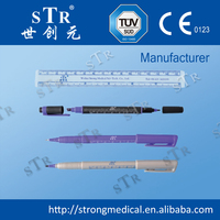 CE Medical Product Hospital device skin Surgical purple Marker Pen (Fine Point)