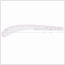 Kearing 24 Inch Flexible Plastic Garment Vary Form Curve Ruler , Sandwich Line Fashion Design Ruler # 6224