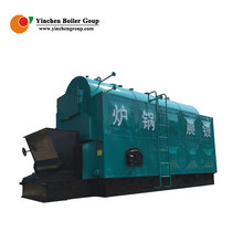 Wood coal sawdust rice husk biomass fuel fired steam boiler