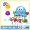Hot Summer Plastic Octopus Bath Toy