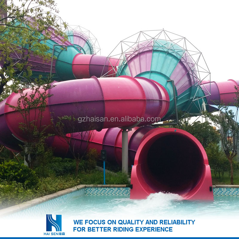 2016 Great Fun mat racer water slide Factory in china