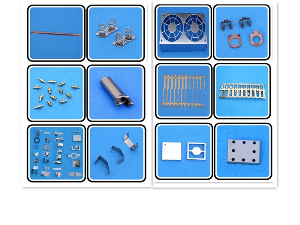 Stamped metal parts, shielding case, shield cover