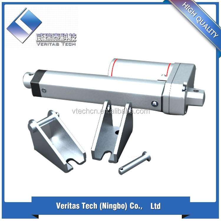 China 12v/24v micro linear actuator price with high quality and low noise