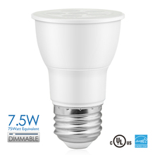 120V E26 Dimmable Par16 7.5W 530lm Led Spotlight Lamp