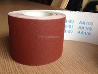 aluminium oxide JB-5 emery cloth sail abrasives for polishing wood/furniture hand use