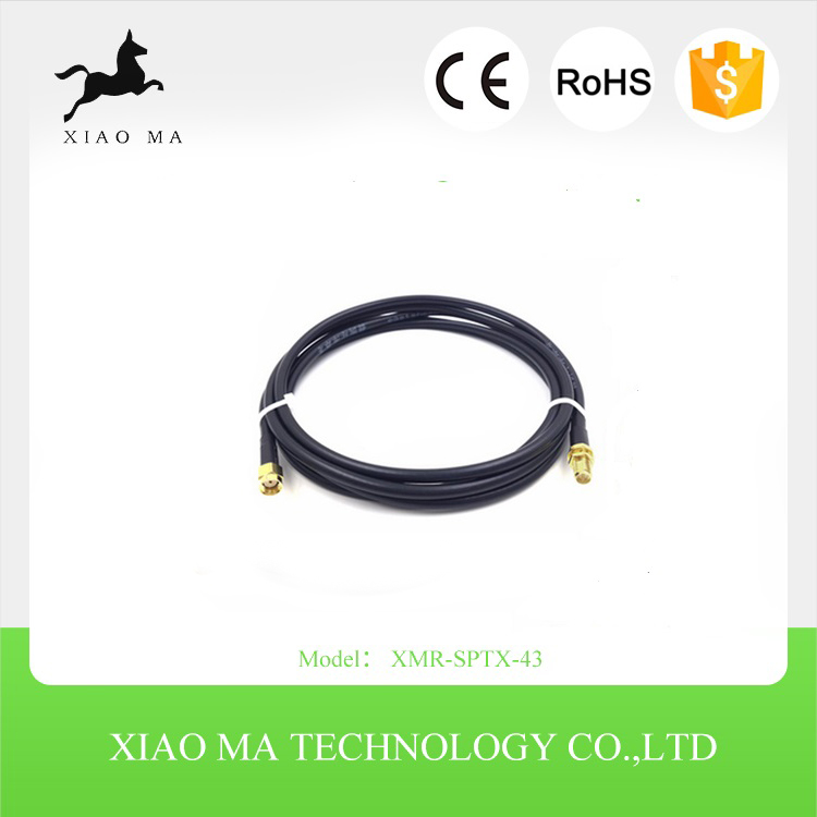 New SMA male to SMA female Antenna Connector Pigtail Jumper Adapter Cable XMR-SPTX-43