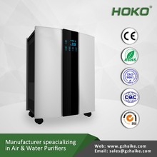High effciency Multiple functional ionizer air purifier, CADR550m3/h, suitable for room 40 to 80m3/ h
