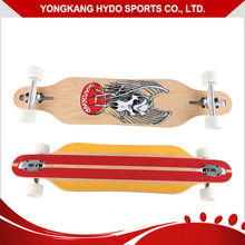 Quality Original inject transparent PU wheels 8 plies Maple Longboard