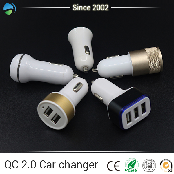 Wholesale Colorful Double USB output mobile charger parts