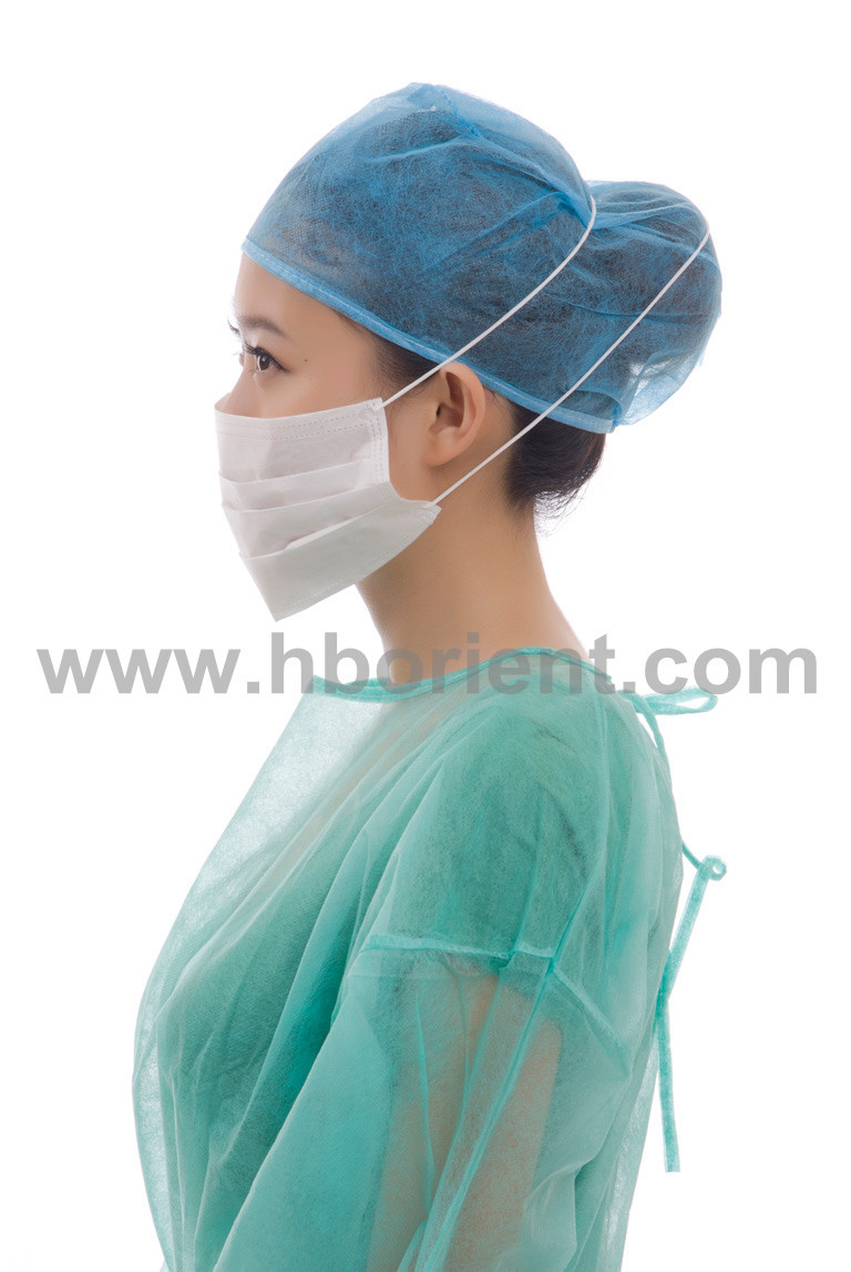 Clean room anti static ESD face mask with headband