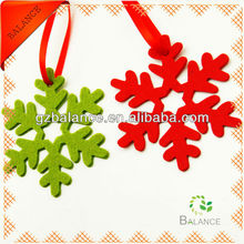 2013 hot sell christmas hanging decoration/christmas crafts/felt decoration
