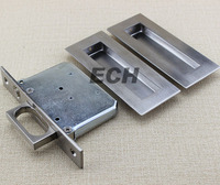 Stainless Steel sliding door flush lock