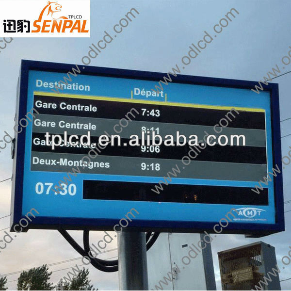 manufacturer of wall mounted hd sun bright outdoor kiosk outdoor lcd advertising display