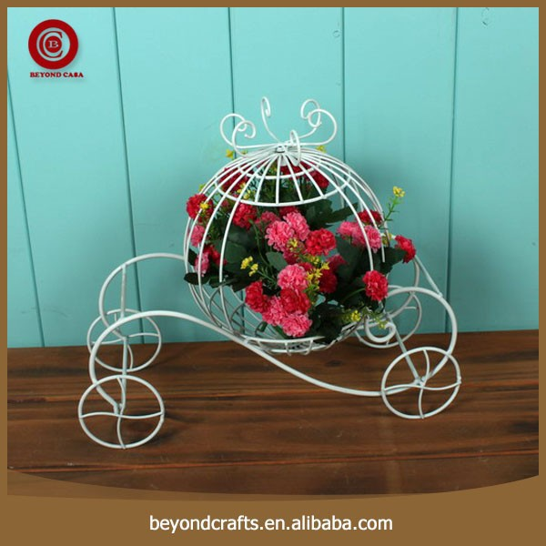 New design top quality flower pot holder with wheels