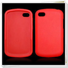 Simple design silicon phone case for blackberry BB Q10