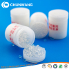 Automatic bottle filling insertion silica gel canister for tablets and capsules