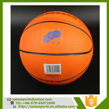 sporting goods balls basketball popular outdoor natural rubber basketball