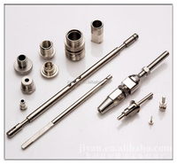 cars spare parts aluminum long engine shaft precises processing