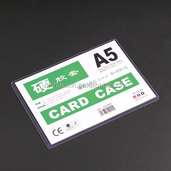 plastic documents case a5 case