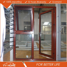 YY Home decorative front double aluminum door exterior main gate design villa entrance door