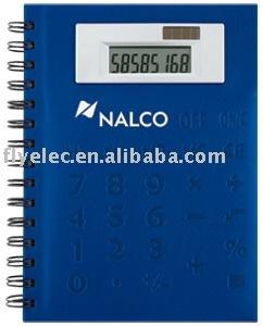 8 digit notebook calculator