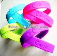 Silicone Wristbands, Adult Rubber Bracelets, Party Accessories