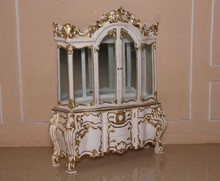 French Furniture - Baroque Display Cabinet