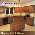 flat edge baltic brown granite kitchen countertop