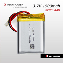 3.7V 1500mah li-ion battery for walkie talkie, electric heating shoes, GPS