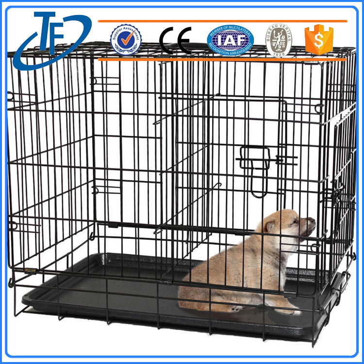 Factory Direct Wholesale Folding Large Pet Dog Cage And Aluminium Dog Kennel For Sale