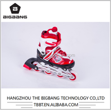 HANGZHOU THE BIGBANG glow in the dark roller skate wheels speed skate led light shoes roller blades inline Roller skate factory