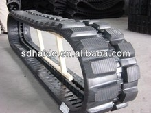 Rubber track for snow blower, snow tracks for vehicles,tractor/grader/crawler rubber track chain