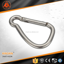 zinc plated alloy safety spring climbing snap hook