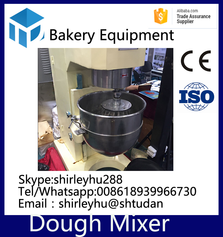 industrial large cake mixer bakery equipment automatic 50kg spiral dough mixer planetary mixer