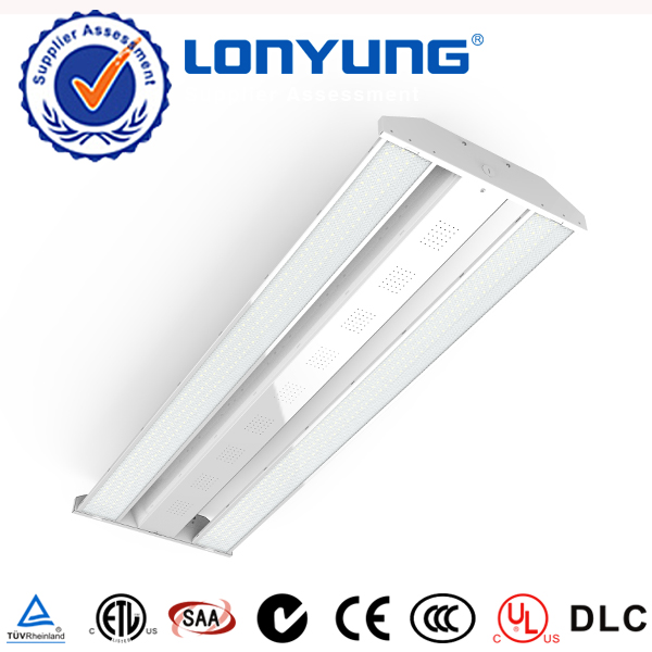 Industrial lighting 200w led linear high bay light 2ft*2ft DLC ETL