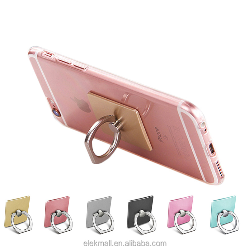 360 Degree Mobile Phone <strong>Stand</strong> Universal finger ring holder for mobile phone For iPhone 7 6s ipad iPod GPS car mount <strong>stand</strong>