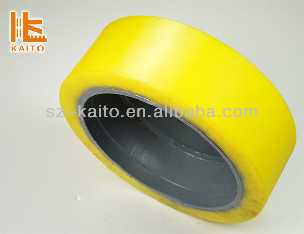 Heavy equipment Polythane Solid Tire for Wirtgen milling machine