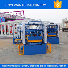 QT4-24 simple automatic production line for hollow block with low investment