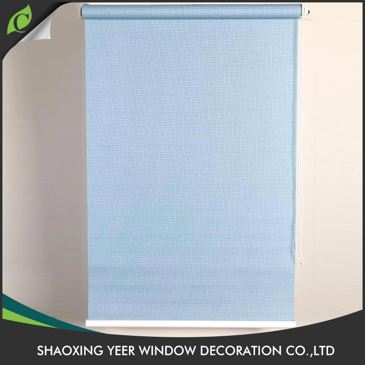 Latest design cheap price window use roller fire retardant blinds