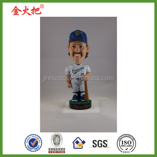 New product resin robin yount milwaukee brewers bobbleheads