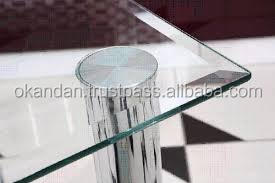 10 mm Edged Glass