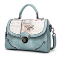 New Design Big Capacity Pattern Pu Lady Women Bag