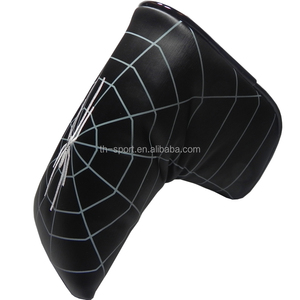 Wholesale 2016 latest spider style golf putter head cover for blade