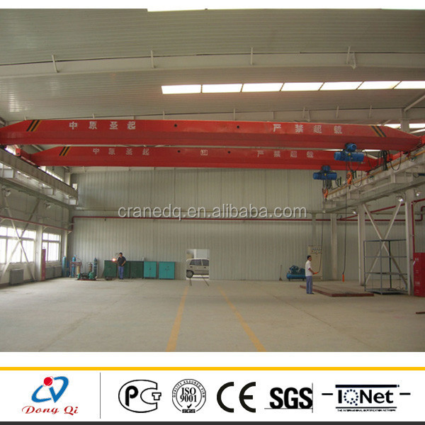 LD Type Mechanical Workshop Single Girder Overhead Cranes