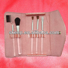 new compact hair beauty make up brush set in Holder Business Promotion Gift Mirror
