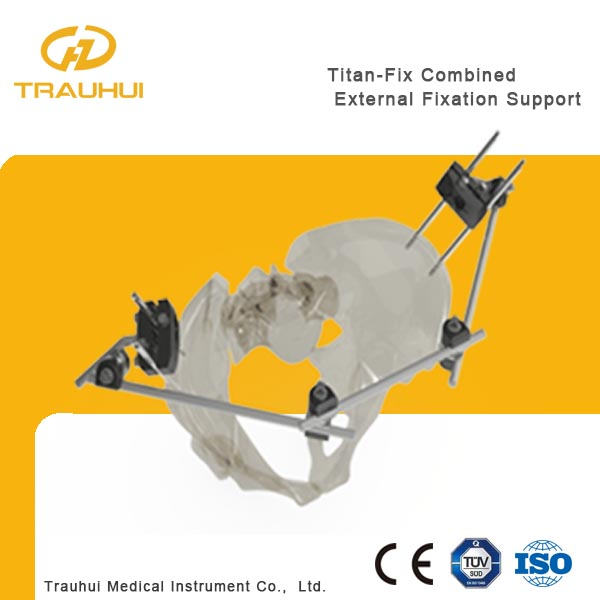 Combined External Fixator Orthopedic Implant Hoffman external fixator pelvis fixation