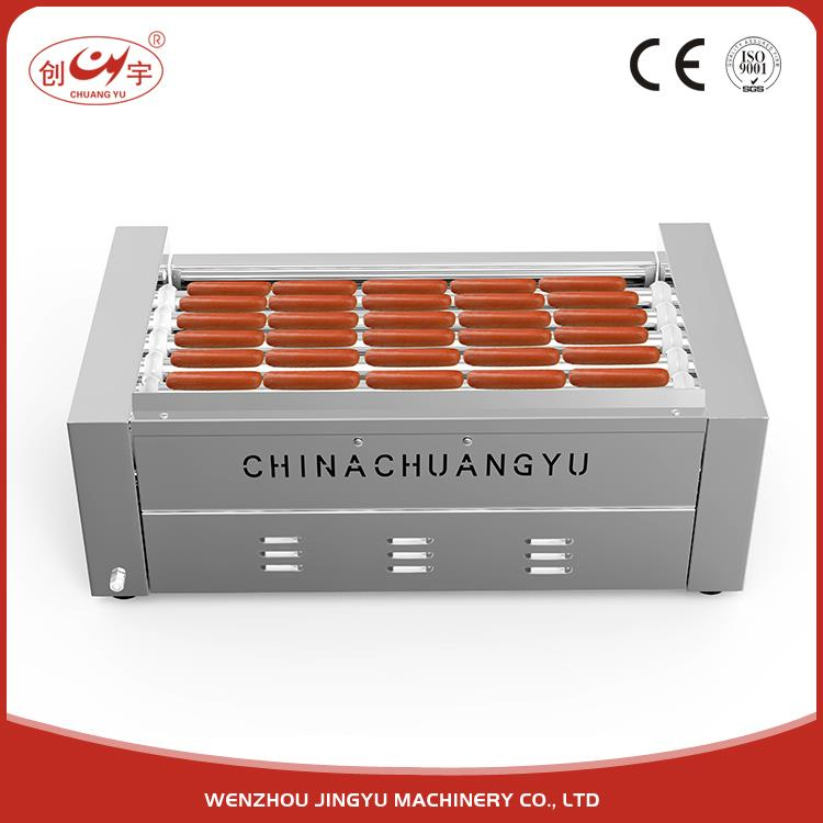Chuangyu Ready Made Sausage Stuffing Corn Hot Dog Making Machine For Kitchen Application