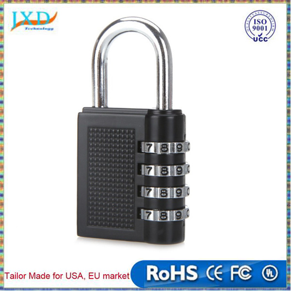 New Travel 4 Digit Metal Combination Lock with out Key