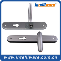 Aluminum recessed antique industrial furniture handle door